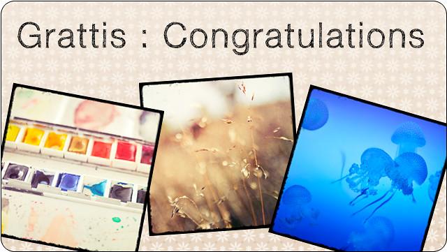 Bloggen - Congrats