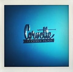 Classic corvette.... (6ftmama) Tags: blue love stingray redrock corvette beuty bluestble fordamiec missallmycarshots jsshotbetter