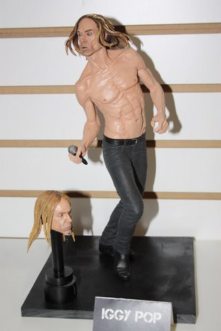 Iggy Pop figure by NECA