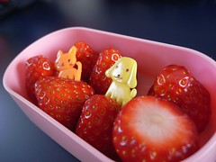チビたんの苺
