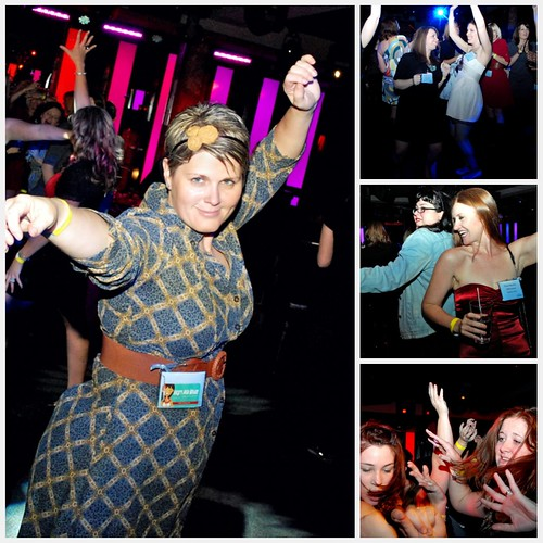 Dancing at Blissdom