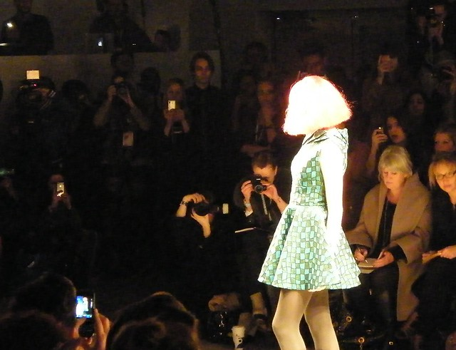Paul Costelloe AW11 at LFW