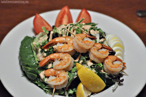 Shrimp Louis Salad at Manitou Station ~ White Bear Lake, MN