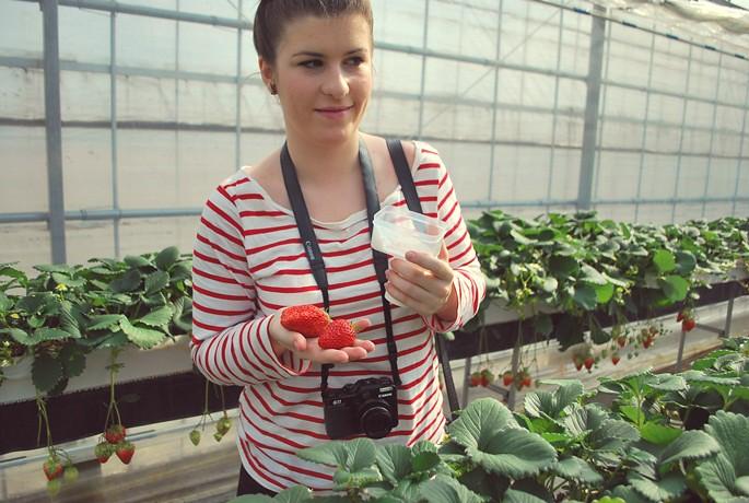 Wanda strawberryhunting