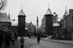 Tallinn - January 2011 (Jorghenstein) Tags: travel winter art tourism monument digital canon eos ancient tallinn estonia sightseeing baltic age middle jorghenstein 400d