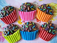 Brigadeiro (Belle Biscuit Lembrancinhas) Tags: biscuit brigadeiro lembrancinha chádecozinha imãdegeladeira