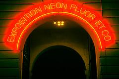 Neons, Fluor & Co. (Thierry Valdin) Tags: brussels lights neon belgium lumière bruxelles exhibition exposition néon lumire iselp neonfluorco