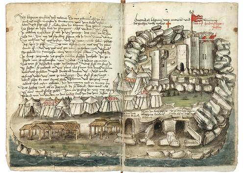 008-Jaffa-Konrad von Grünenberg- Beschreibung der Reise von Konstanz nach Jerusalem 1487- © 2010 Badische Landesbibliothek