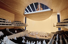 Interior View of Model  - Auditorium