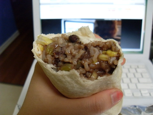 Rice and Bean Burritos Take 2