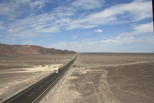 The road to Nazca