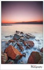 The Bloody Sea (Eric Rousset) Tags: longexposure winter sea mer seascape france seaweed beach sunrise canon landscape photography rocks europe hiver wideangle ctedazur paysage var canonef1740mmf4lusm waterscape frenchriviera 2011 mermditerrane provencealpesctedazur adobephotoshopcs3 canoneos5dmarkii ericrousset singhray3stopreversegnd leefilterndgrad06 plagedelapinde lesisssambres