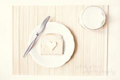 Petit déjeuner~ (Pink Pixel Photography (f.k.a. Sunny)) Tags: breakfast milk heart toast pale butter getty herz frühstück milch petitdéjeuner whisperywhitewednesday
