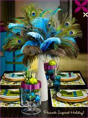 Peacock Centerpiece (kuzmen7) Tags: wedding inspirations