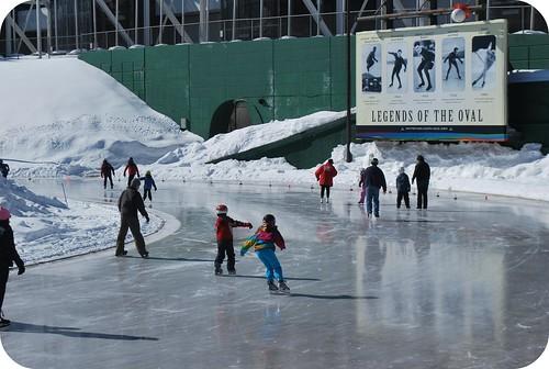 Oval Skating