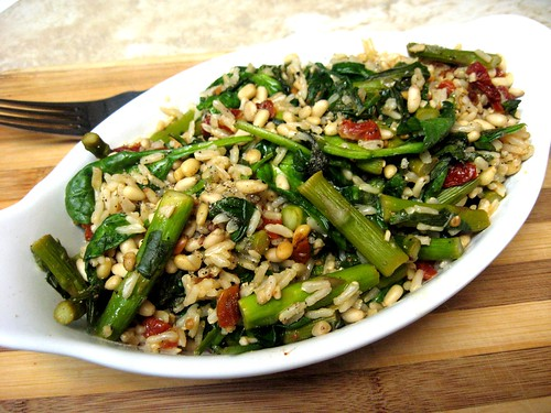 Mediterranean Brown Rice