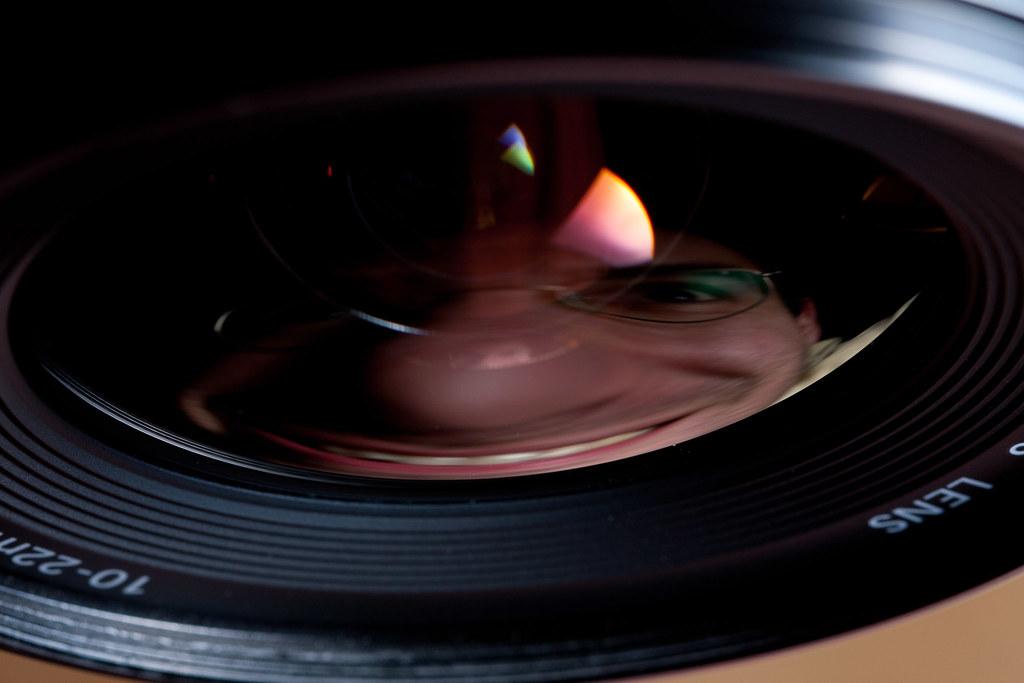 Self Portrait w/ Wide Angle Lens