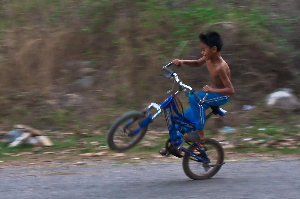 BMX antics