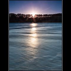 (David Panevin) Tags: longexposure morning trees sky bw sun seascape beach water sunrise landscape waves australia olympus tasmania e3 cremorne sigma1020mmf456exdchsm southarm bwnd davidpanevin