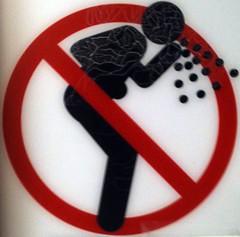 NO VOMITING! by weirdpercent, on Flickr