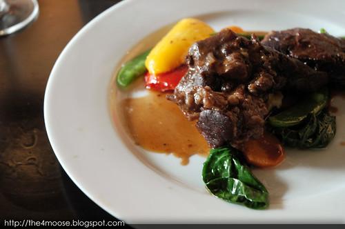 Black Sheep Cafe - Braised Beef Cheeks