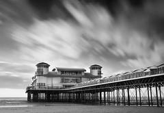 The Grand Pier BW (Scott Howse) Tags: uk longexposure england blackandwhite bw beach monochrome coast pier somerset lee filters westonsupermare graduated nd1000 nd110 nd30 09s