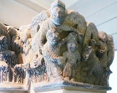 Camarasa Historiated Capitals with Sacrifice of Isaac