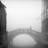 Venice (MaggyMorrissey) Tags: bridge venice mist fog niksilverefex