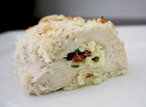 Feta and Tomato Stuffed Chicken