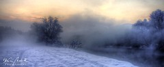 Frozen Morning on a River (Werner Madritsch) Tags: morning schnee winter mist snow landscape nebel mur landschaft morgen rivermur
