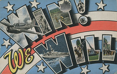 Win We Will - Large Letter Postcard (Shook Photos) Tags: soldier ship postcard postcards bomber parachute parachutist bigletter largeletter largeletterpostcard militarymilitary largeletterpostcards bigletterpostcard bigletterpostcards winwewill postcardmilitary