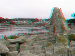 3D Pictures From Central California Trip (Redbeard Math Pirate) Tags: ocean beach coast monterey stereoscopic 3d anaglyph stereo shore pacificgrove redblue loverspoint anaglyphic threedimensional redcyan