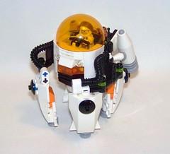LEGO - Mars Mission - Zero-G Laser Drill POD (Slayerdread) Tags: mars lego space mining drill moc