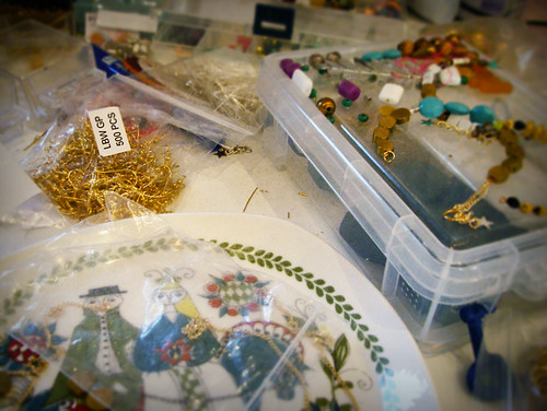 Day 276 - Jewellery Making Mess