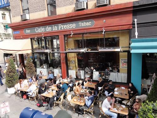 Nice Parisian-style cafe close to Union Square