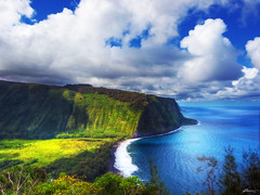 waipio valley (paul bica) Tags: ocean travel vacation sky favorite sun seascape black color tree art beach nature water beautiful clouds spectacular landscape outdoors hawaii photo high amazing interesting intense fantastic sand day waves escape view pacific image superb district awesome hill north picture olympus lookout best ridge glorious filter shore valley tropical vegetation bigisland scape visual zuiko breathtaking dex waipio e5 hamakua desent kaau polarizing 2000ft colorphotoaward kukuihaele dexxus magicunicornverybest sbfmasterpiece 20110127ha2bigisland70819 sbfgrandmaster