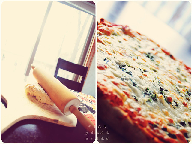 Pizza - diptych