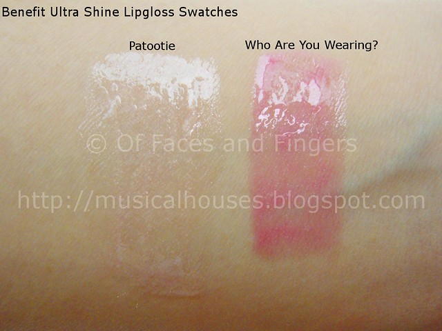 benefit ultra shine lipgloss swatch