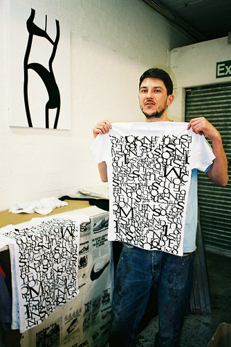 Craig at K2 screen print