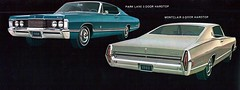 1968 Mercury Park Lane and Montclair Fastback (coconv) Tags: pictures auto park door old 2 art classic cars hardtop car illustration vintage magazine advertising cards photo flyer automobile post image mercury photos antique album postcard ad picture images advertisement vehicles photographs card photograph lane postcards vehicle 1968 autos collectible collectors montclair brochure coupe automobiles dealer 68 fastback prestige sweptback