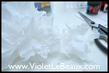 Tissue Flowers Tutorial