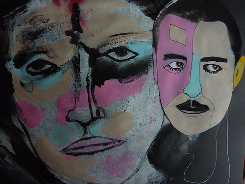pintura collage