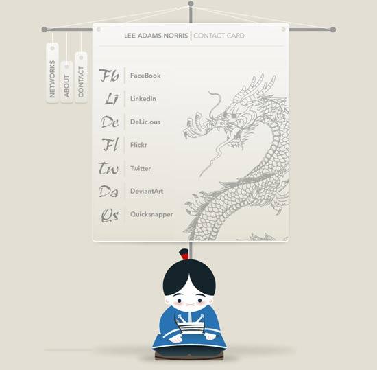 ejemplos de tarjetas vcard
