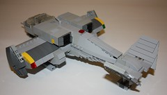 UV03-C Attack Ship 1 (Babalas Shipyards) Tags: ship lego space military air attack scifi concept vtol interdictor