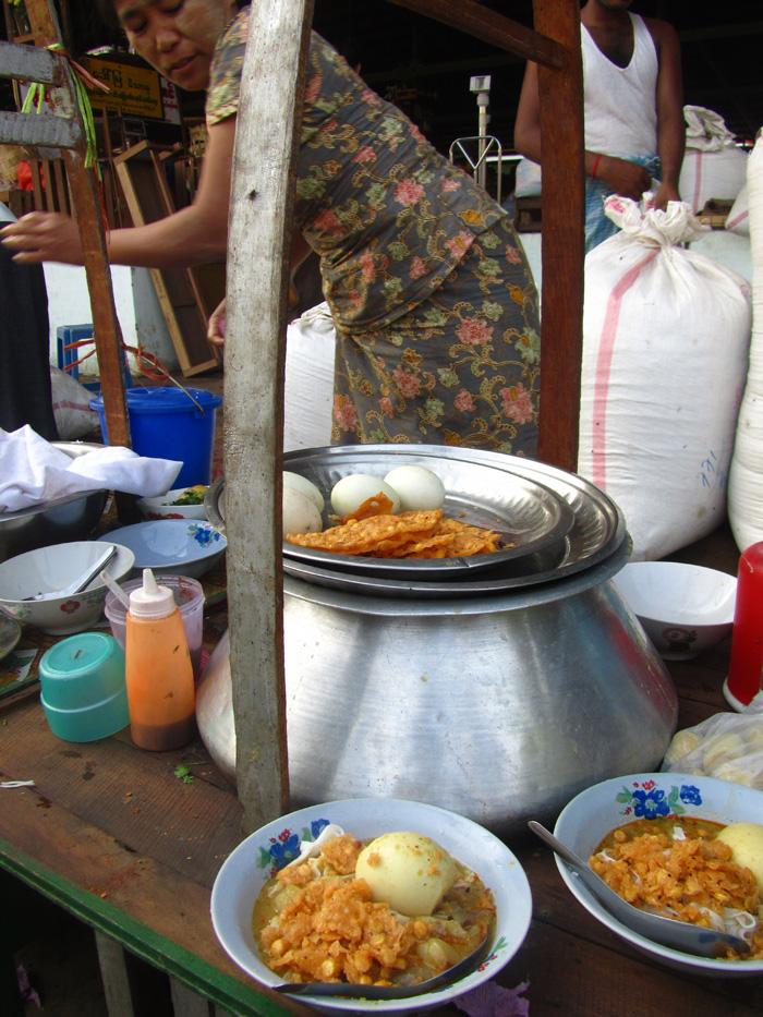 Burmese Mohinga Breakfast