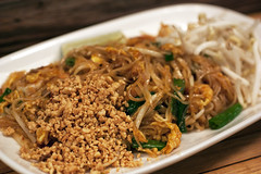 pad thai @ pure thai shophouse