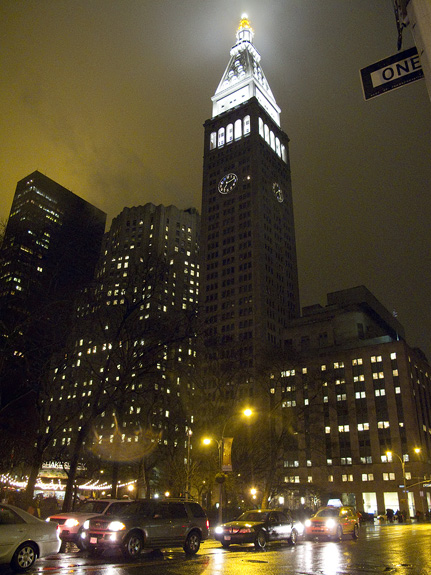 Rain, 23rd Street