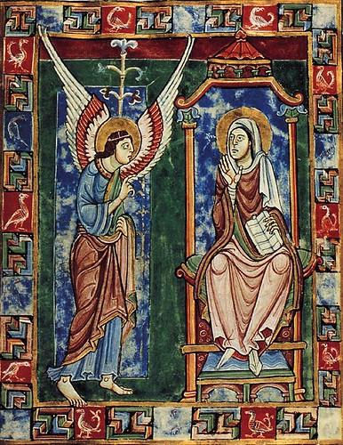 003-Salterio de San Albano-hacia el año 1120-St Godehard's Church-Hildesheim