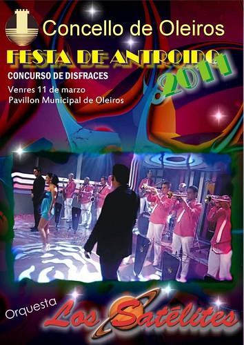 Oleiros 2011 - Entroido - cartel