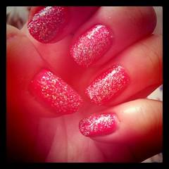 Hot pink and glitterrrrr